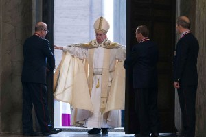 Pope Francis opens the Holy Door at St. Peter's